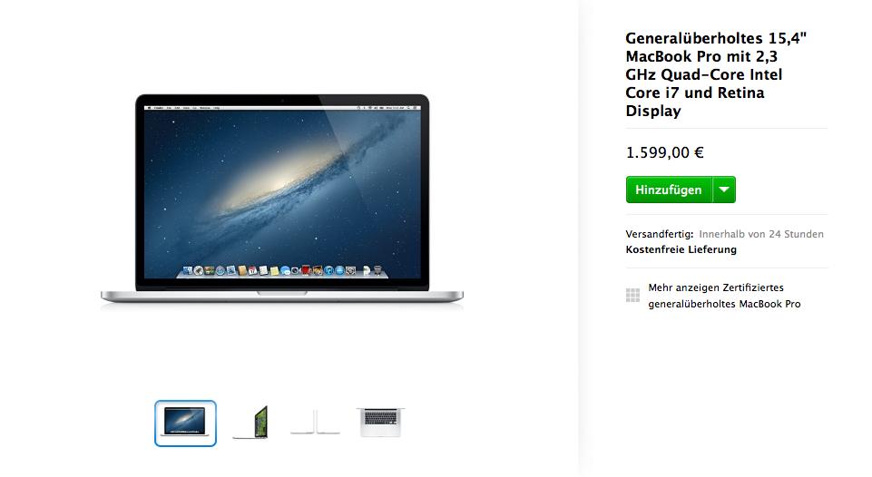 Screenshot von store.apple.com