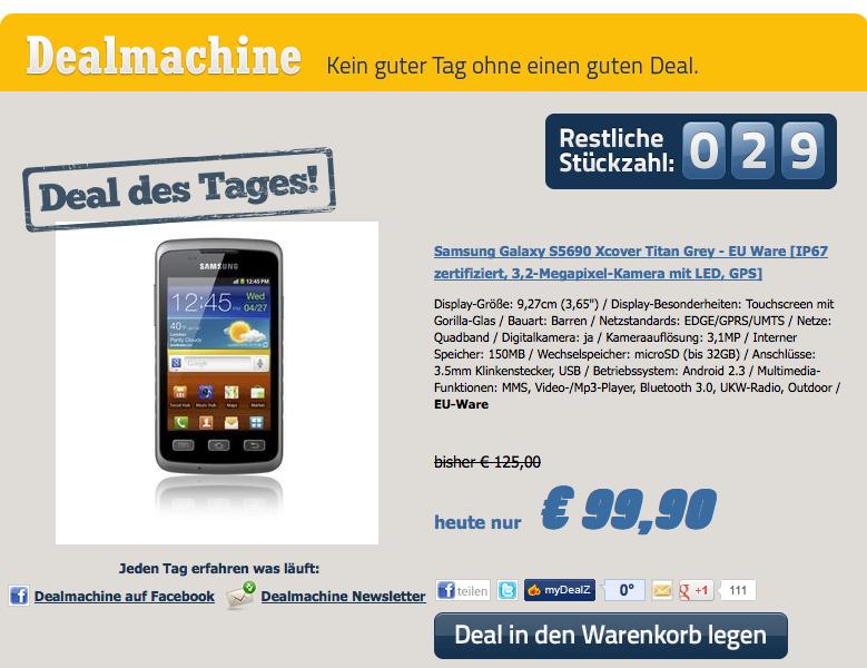 Screenshot von Notebooksbilliger.de