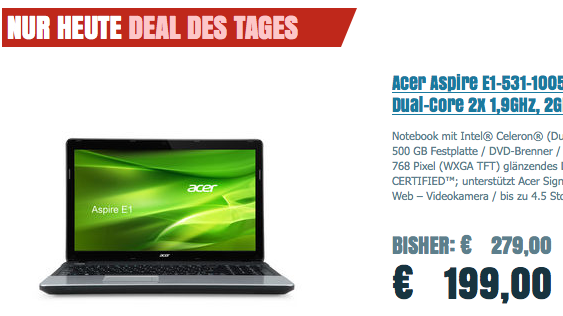 Acer Aspire E1-531-10052G50Mnks
