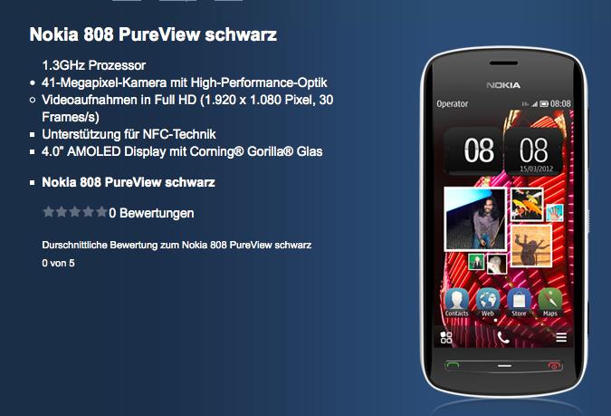 Nokia 80 PureView